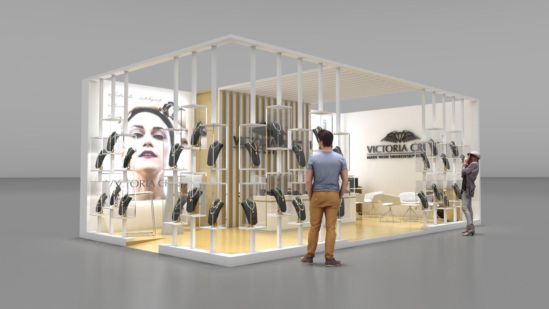 Arquitectura ef mera y stands kandaya for Disenos de stand para exposiciones